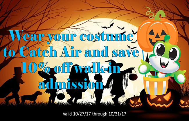 Catch Air Halloween Special!