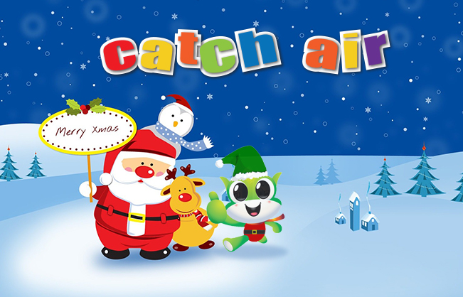 Santa is coming to Catch Air!