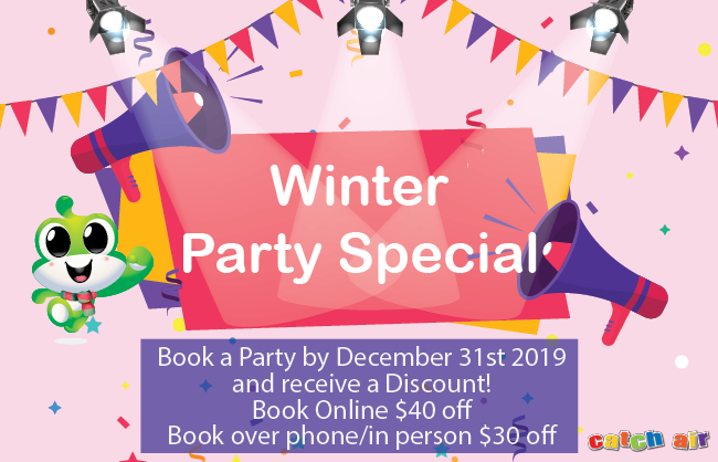 Winter Party Special at Snellville and Cumming