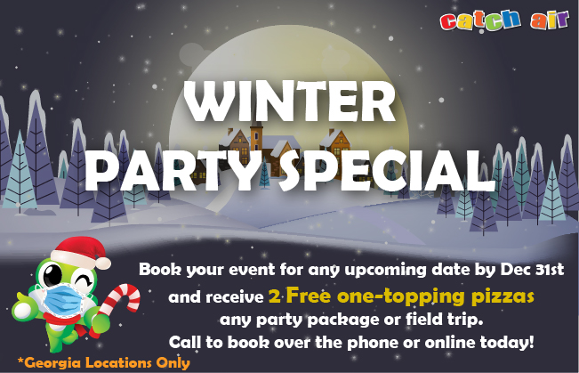Winter Party Special at Johns Creek, Snellville, Cumming, and Marietta