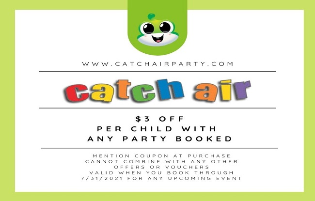Catch Air Party Special at Paramus
