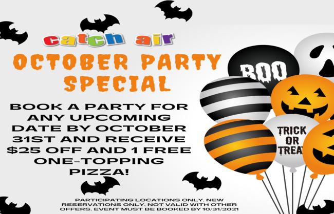 October Party Special